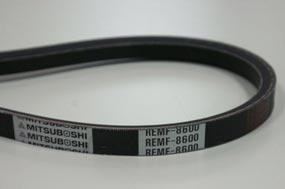 Automotive Belt Line Up REMF Raw Edge Plain Belt